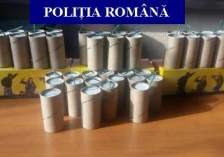 Polițiștii au prins un suspect cu artificii pe Cluj Arena. Urmau să facă spectacol în ziua meciului cu Danemarca