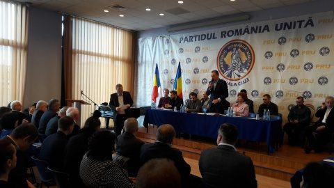 Vezi mesajul PRU Cluj pentru unitatea partidelor și organizațiilor naționaliste (Video)