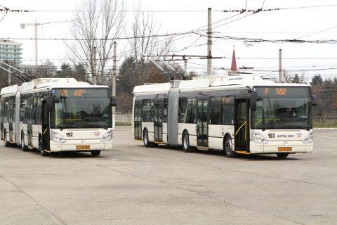 Benzi separate pentru autobuze şi troleibuze, la Cluj-Napoca