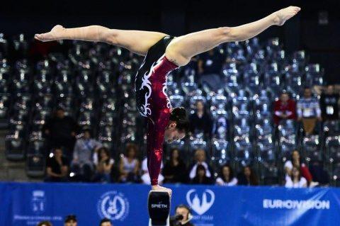 Gimnastele noastre s-au calificat în finala de la Cluj