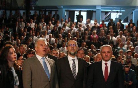 Liviu Dragnea, umilit public de vicepremierul ungar, Semjen Zsolt la Zalău