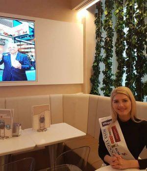 Interviu cu MISS VIENA, românca Elisa Dedu!