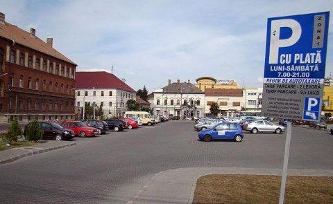 Parcările din Cluj-Napoca vor fi dotate cu senzori pentru identificarea locurilor libere de către șoferii clujeni
