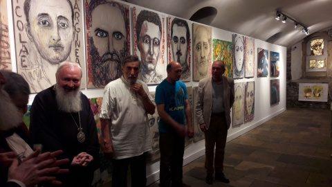 Expoziție Silvia Radu despre martirii temnițelor comuniste la Casa Matei din Cluj
