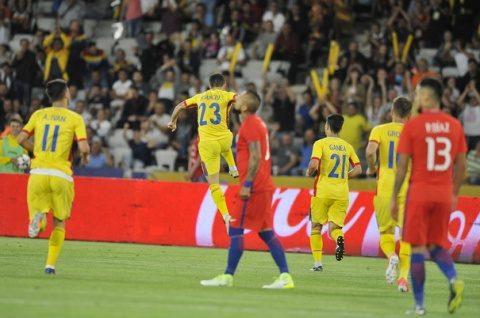România învinge spectaculos reprezentativa statului Chile într-un meci la Cluj-Napoca. Am jucat ca nemții