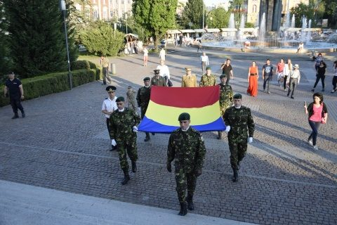 Avanpremiera Zilei Drapelului (Tricolorului) Român…, Catedrala Mitropolitana Cluj-Napoca
