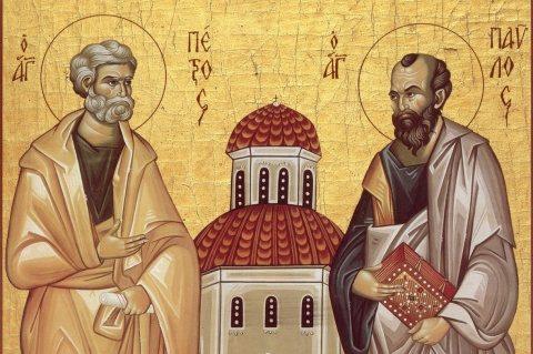 Agenda ierarhilor din Mitropolia Clujului la sărbătoarea Sfinților Apostoli Petru și Pavel, 2017