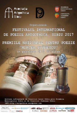 Festivalului Internațional de Poezie Artgothica de la Sibiu