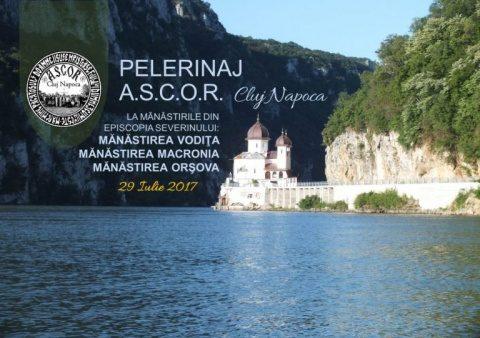 ASCOR Cluj: Pelerinaj pe jos la mănăstirile din zona Cazanelor Dunării
