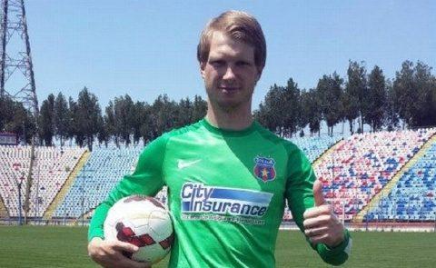 Portarul lituanian Giedrius Arlauskis a semnat cu CFR Cluj