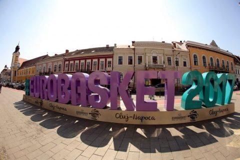 Programul FIBA Eurobasket la Cluj-Napoca