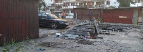 6 parkinguri noi, în locul celor 1.500 de garaje demolate