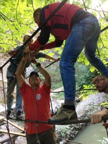 A fost finalizata refacerea podului numarul 3 din Cheile Turzii de la Infopublic
