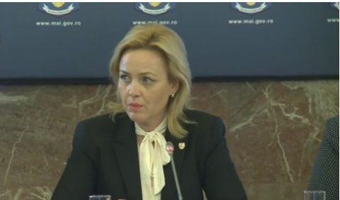 Carmen Dan a refuzat să dea explicații privind un posibil atentat pe 10 august 2018 dezvăluit de Gelu Vișan