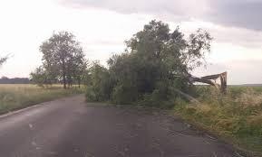 Drum din judeţul Cluj este în închis după furtuna de duminică