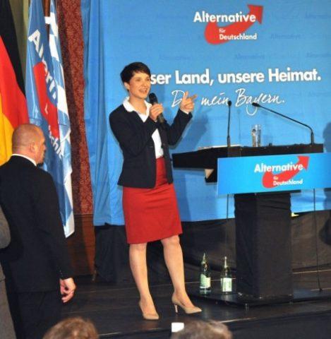 """Naționaliștii germani de la AfD, rezultat istoric. """"Ne vom lua țara înapoi!"""""""