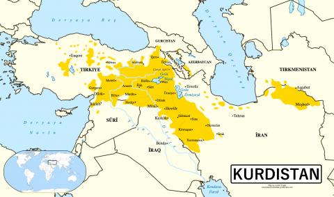 Kurzii din Irak se declară pregătiţi să traseze graniţele unui viitor stat kurd