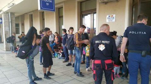 Zeci de imigranți, prinși în gara din Timișoara. Au vrut să ajungă cu trenul în Occident