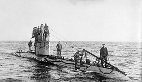 Submarin din Primul Război Mondial, decoperit intact