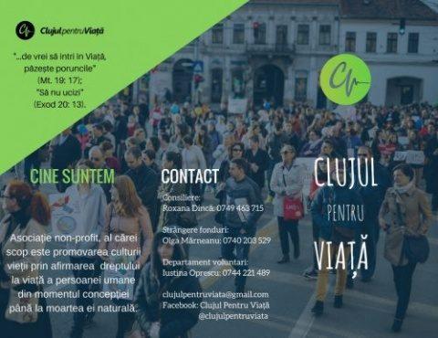 Lansarea Asociaţiei CLUJUL PENTRU VIAŢĂ