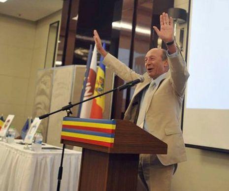 Traian Băsescu susține că românii nu pot trăi despărţiţi de Prut