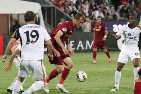 CFR Cluj a învins, pe teren propriu, cu scorul de 3-1 (0-1), FC Viitorul