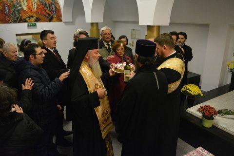 Parastas pentru fostul Arhiepiscop Teofil Herineanu la Catedrala Mitropolitană