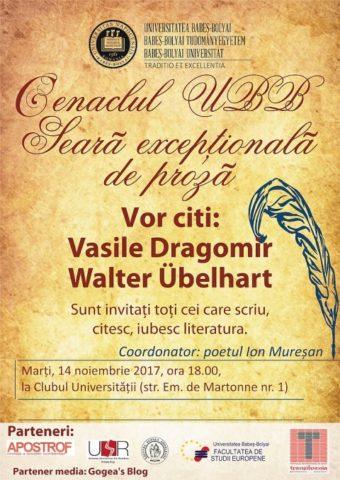 Cenaclul UBB: Seară de poezie