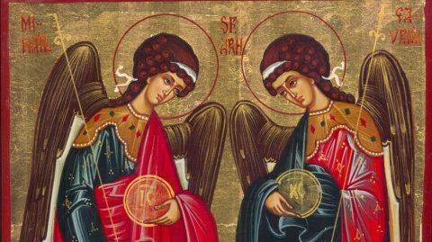 Azi e sărbătoare: Sfinţii Arhangheli Mihail şi Gavriil