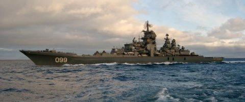 Rusia urmăreşte o fregată franceză care a intrat în Marea Neagră