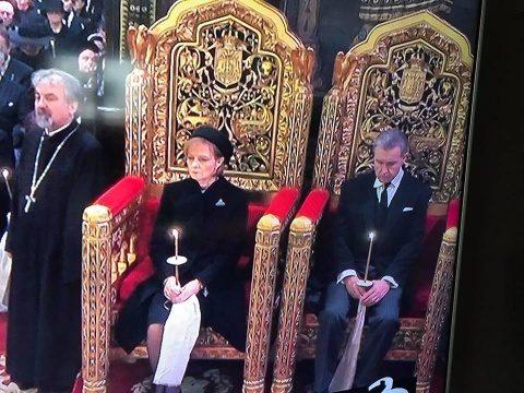 BOR a așezat-o pe Principesa Margareta pe scaunul rezervat monarhului