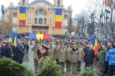 24 ianuarie la Cluj-Napoca:cea mai mare Horă a Unirii din istoria Clujului