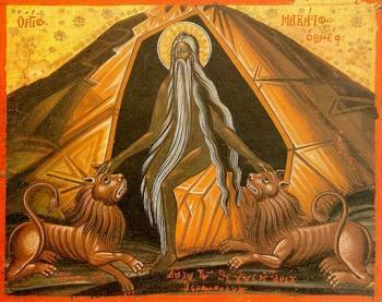 19 ianuarie: S-a străduit cu lege grea și a biruit! Sfântul Preacuvios Părinte Macarie cel Mare