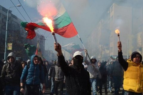 Manifestare a extremei drepte la Sofia împotriva U.E.