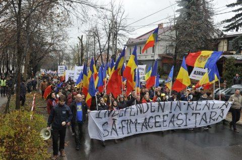 Unirea Rep. Moldova cu România foarte aproape! A început revoluția Unirii de jos în sus!