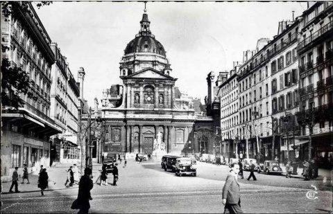 În perioada interbelică se vorbea românește la universitățile din Paris