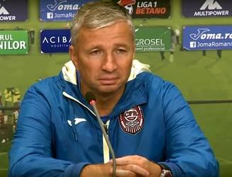 Antrenorul formaţiei CFR Cluj, Dan Petrescu, se aşteaptă la un meci dificil cu AFC Hermannstadt