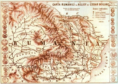 Vezi harta istorică a României Mari la 1855