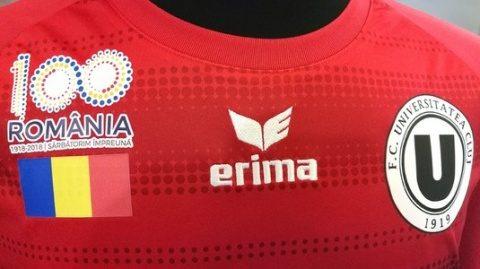FC Universitatea va juca pe teren într-un echipament personalizat dedicat Centenarului