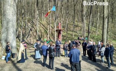 La stejarul lui Ștefan cel Mare din Codrii Cosminului au fost comemorați arcașii și răzeșii moldoveni