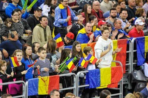 La înfruntarea dintre România și Elveția clujenii au pregătit o coregrafie de Centenar