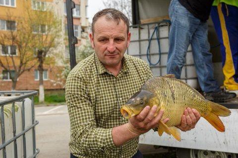 Acțiune de populare cu pești a lacurilor din Cluj-Napoca
