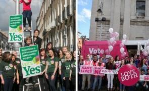 Interzicerea avorturilor, eliminată din Constituţia din Irlanda