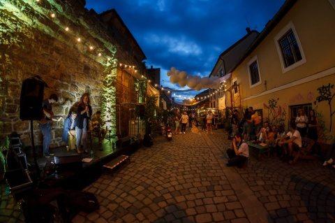 """""""Piață de flori altfel"""" organizată în zona istorică a Clujului"""