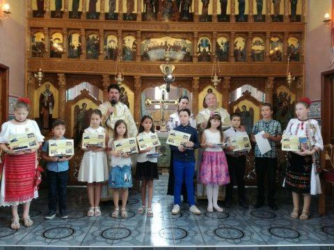 """Eveniment dedicat elevilor silitori a avut loc la Parohia """"Nașterea Domnului"""" din Cluj-Napoca"""