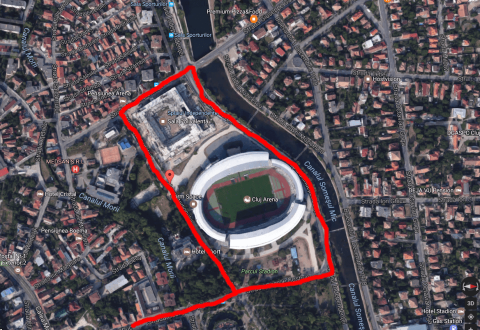 Restricții de circulație la Cluj-Napoca, cu ocazia Sports Festival