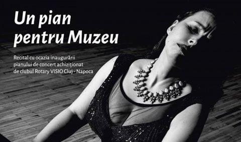 Muzeul de Artă Cluj-Napoca, va găzdui un recital de excepție al pianistei Silvia Sbârciu