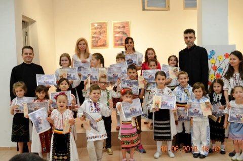 """Parohia Sf Prooroc Ilie: Proiectul educațional """"Întâmplări cu îngeri"""", la final"""