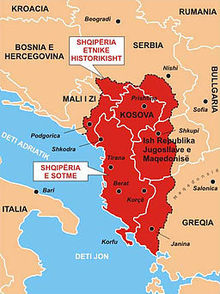 S-a desființat granița între Albania și Kosovo. Drum iber spre Albania Mare