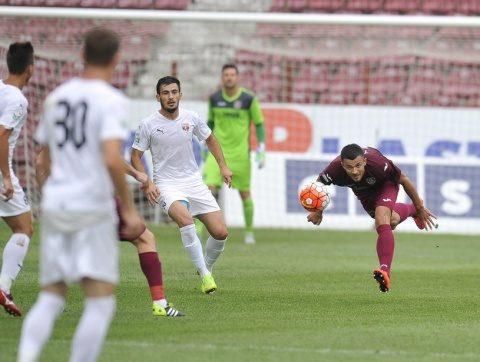 CFR Cluj a învins-o pe FC Voluntari cu scorul de 2-1